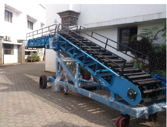 Mobile Hevy duty Slat Stacker ( Object weight up to 300 Kg)